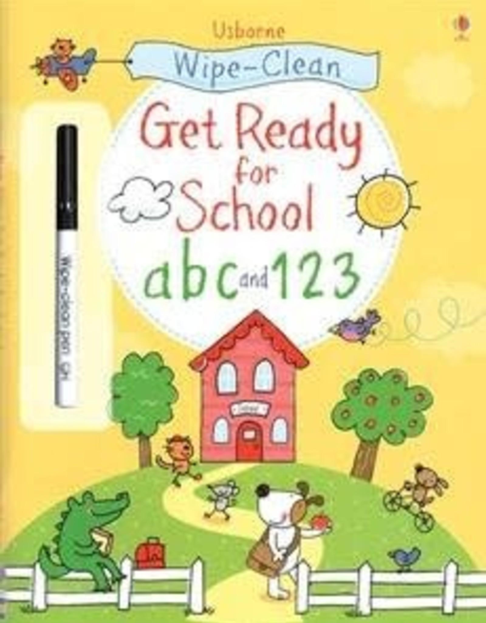 Usborne Usborne Wipe-Clean Get Ready For School