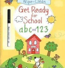 Usborne Usborne Wipe-Clean Get Ready For School