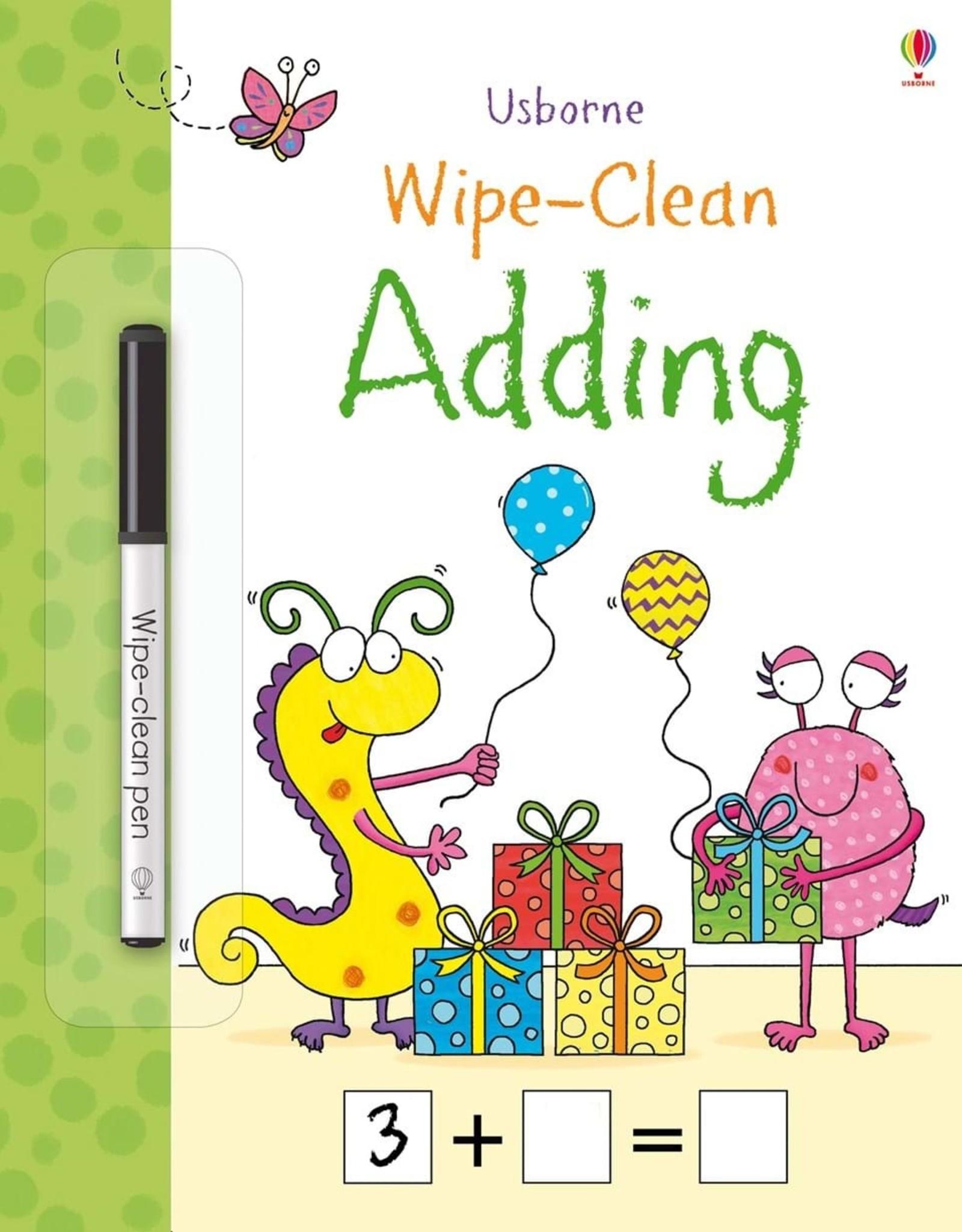 Usborne Usborne Wipe-Clean Adding