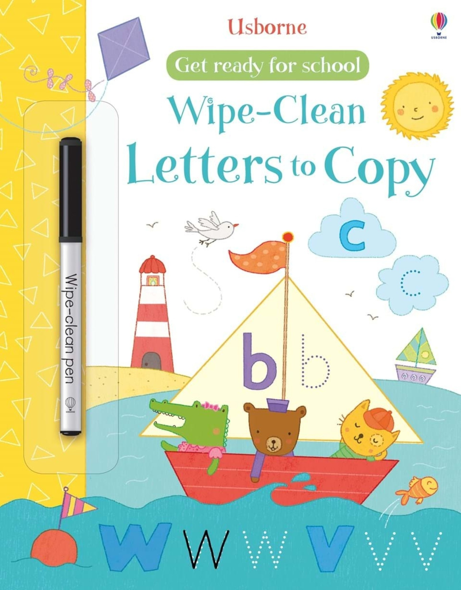 Usborne Usborne Wipe-Clean Letters To Copy