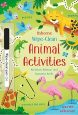 Usborne Usborne Wipe-Clean Animal Activities
