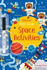 Usborne Usborne Wipe-Clean Space Activities