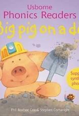 Usborne Usborne Phonics Big Pig On A Dig