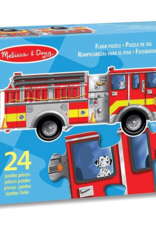Melissa & Doug Melissa & Doug 24pc Giant Fire Engine Floor Puzzle