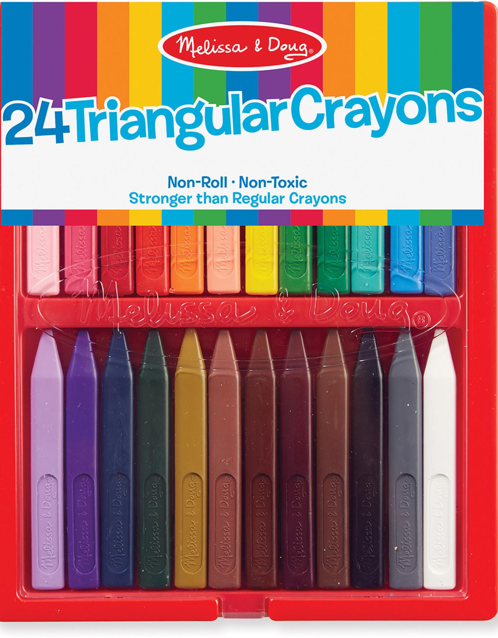 Melissa & Doug Melissa & Doug 24 Triangular Crayon Set
