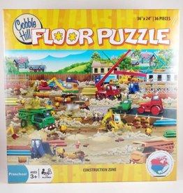 Cobble Hill Puzzles Construction Zone - 36pc Floor Puzzle