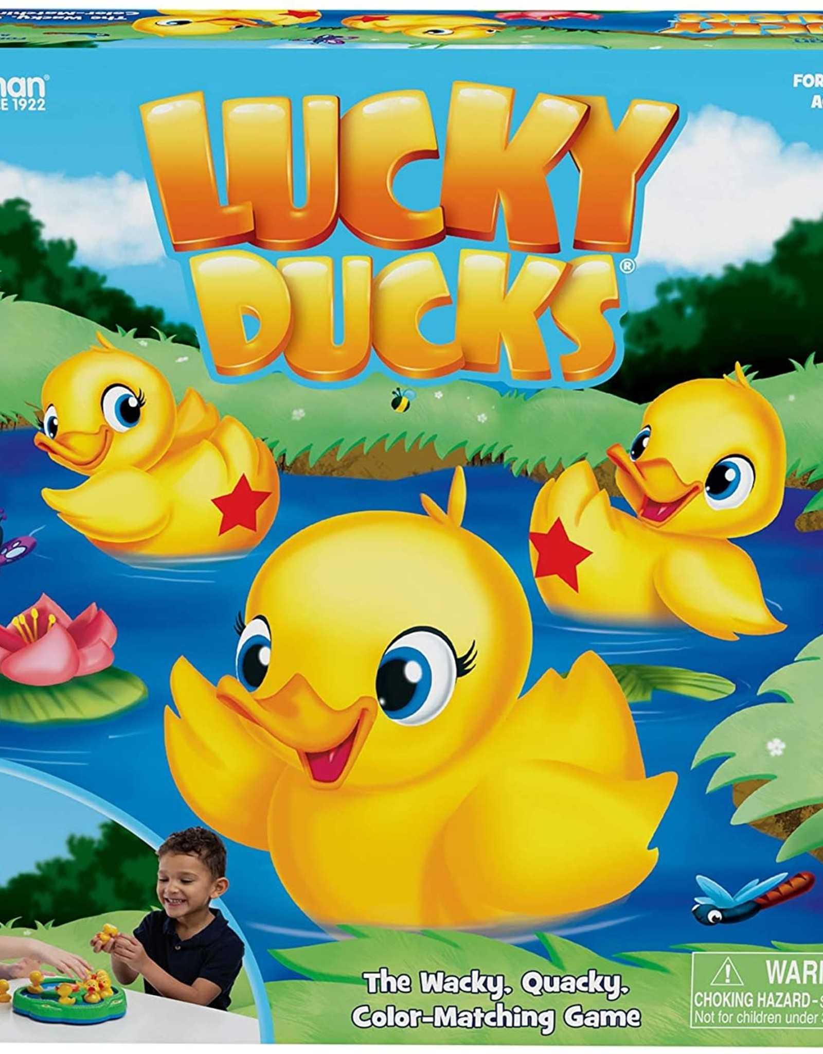 Pressman Toys Lucky Ducks Game