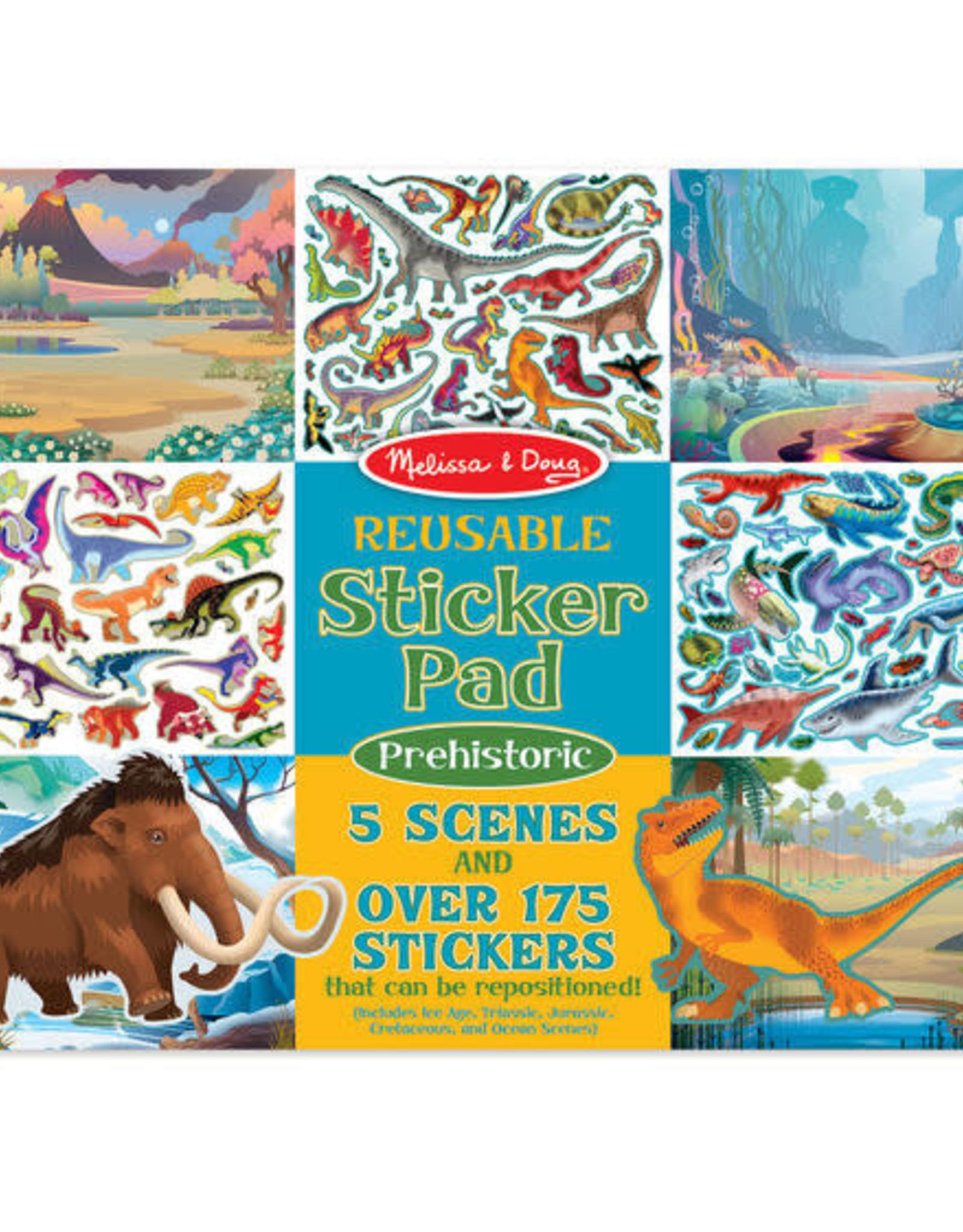 Melissa & Doug Melissa & Doug Reusable Sticker Pad - Prehistoric