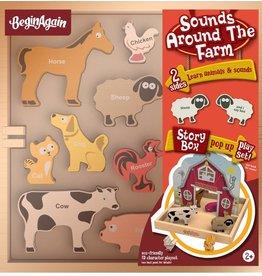BeginAgain BeginAgain Sounds Around The Farm Playset