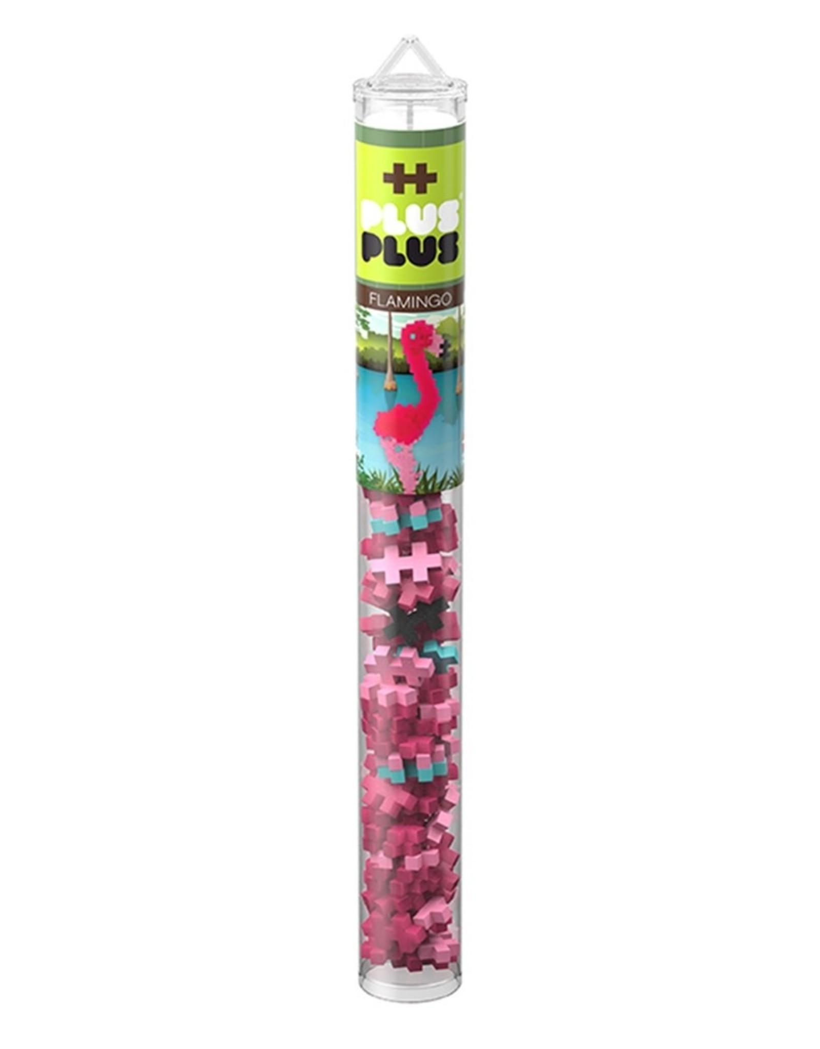 Plus-Plus Plus-Plus Flamingo Tube