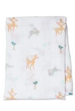 Lulujo Lulujo Muslin Swaddle Blanket - Little Fawn