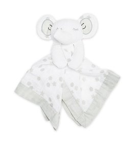 Lulujo Lulujo Muslin Cotton Lovie - Elephant
