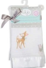 Lulujo Lulujo Muslin Cotton Security Blankets - Little Fawn