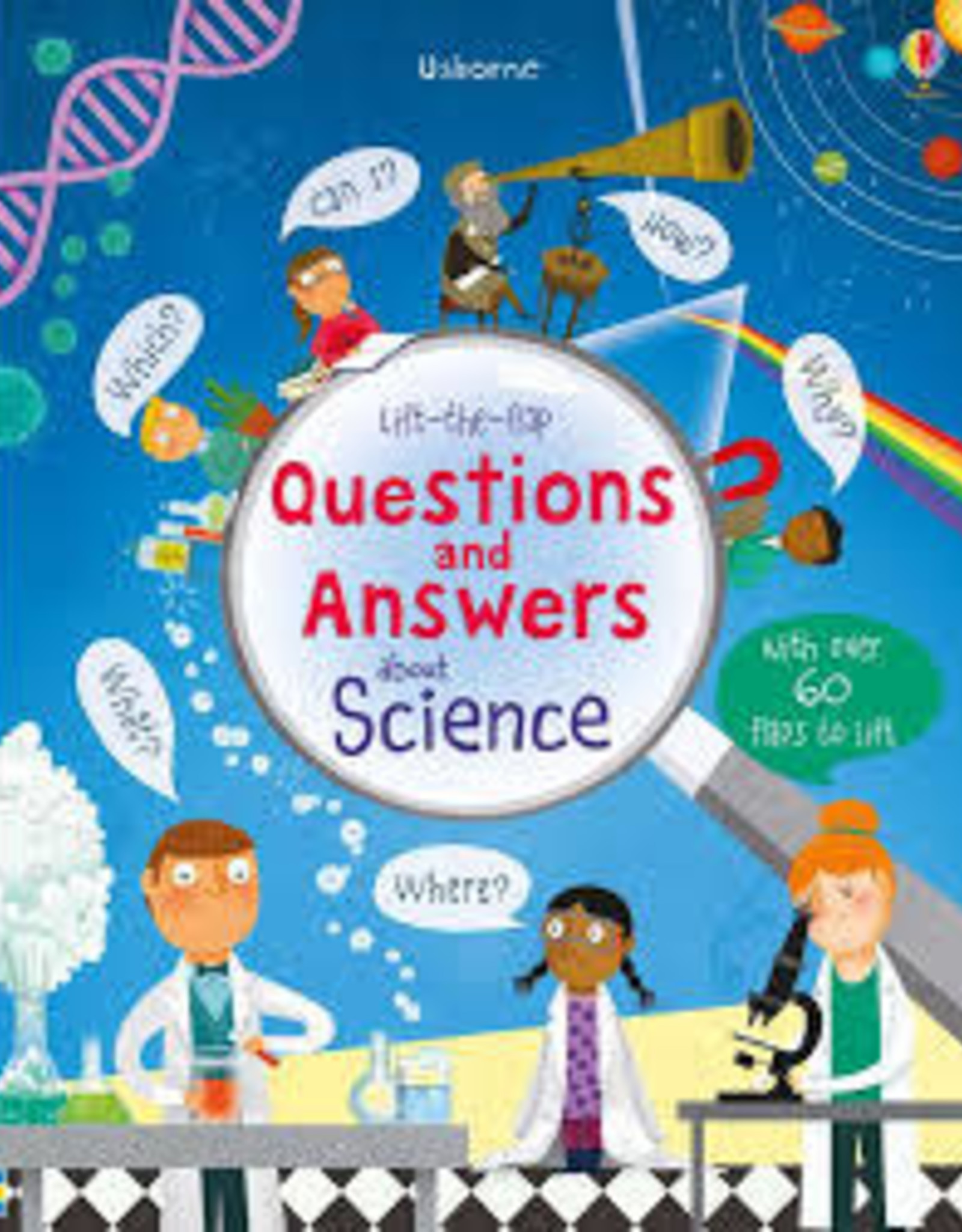 Usborne Usborne Lift-the-Flap Questions and Answers About Science