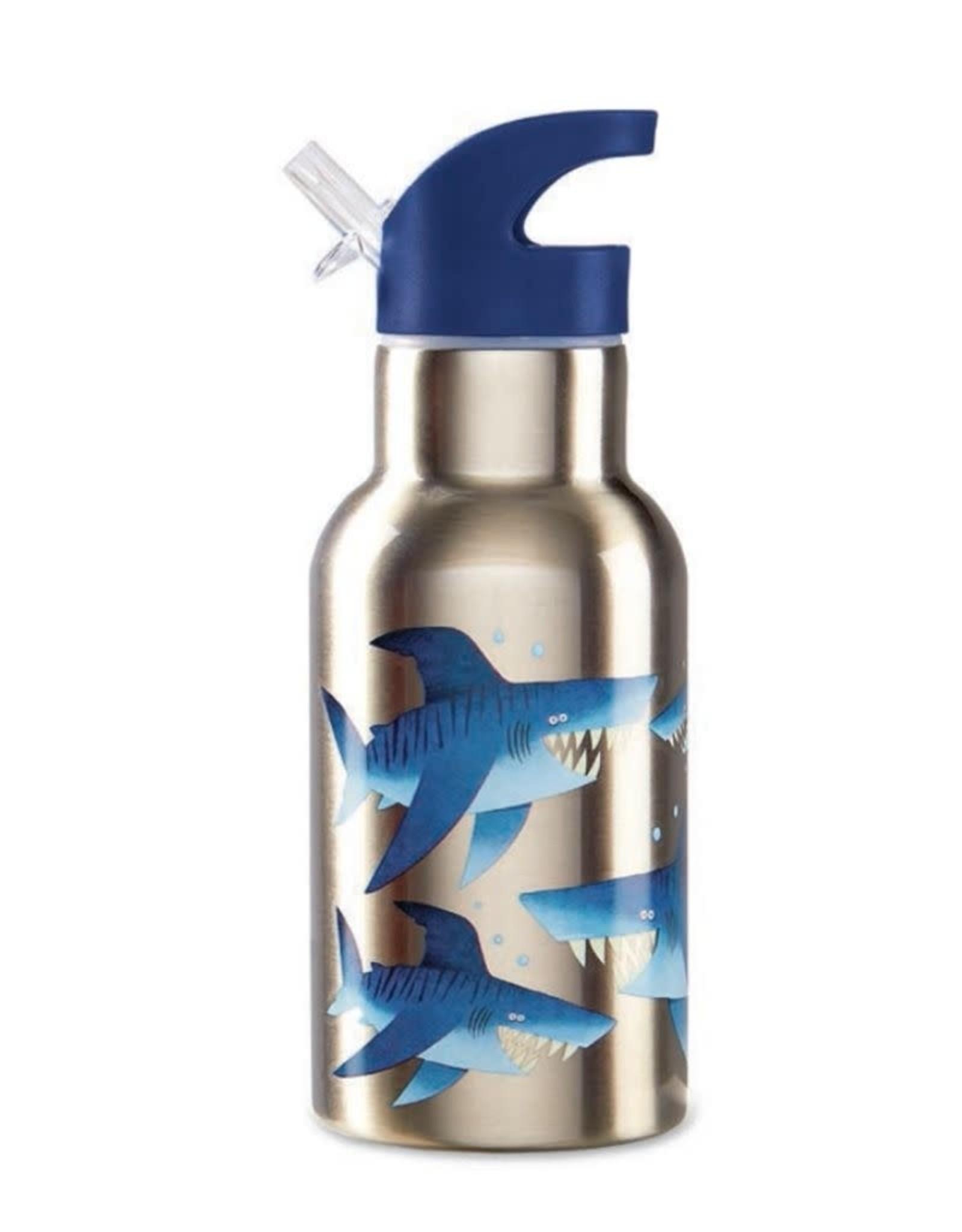 Crocodile Creek Crocodile Creek Stainless Steel Drinking Bottle - Shark