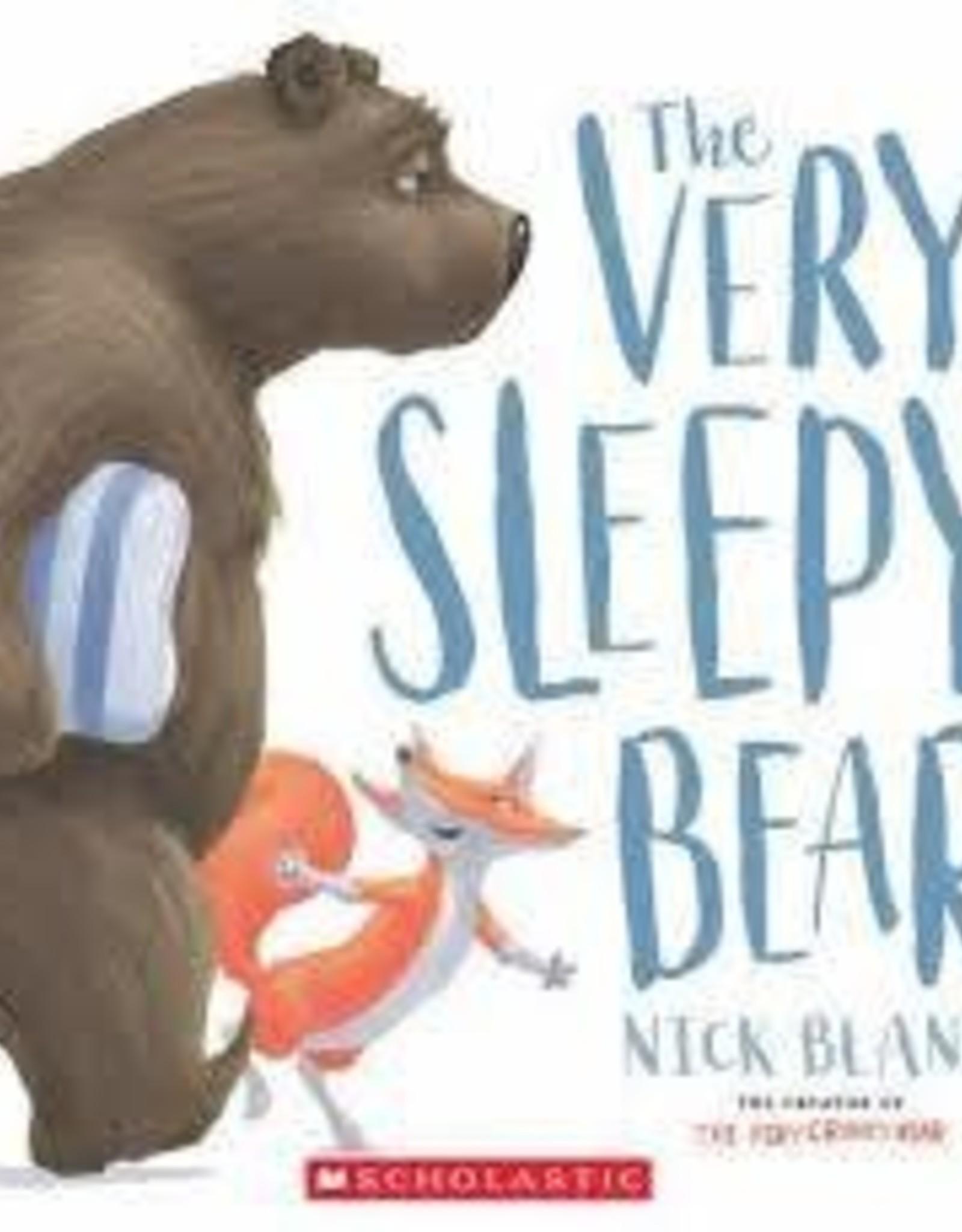 Scholastic The Very Sleepy Bear - Board Book
