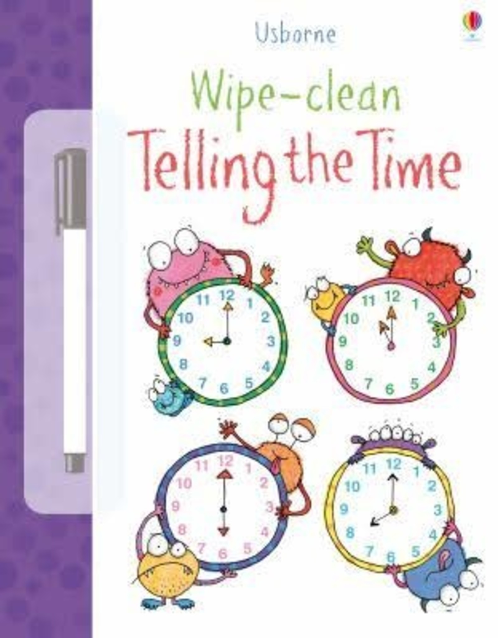 Usborne Usborne Wipe-Clean Telling the Time