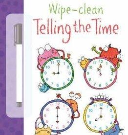Usborne Usborne Wipe-Clean Telling the Time