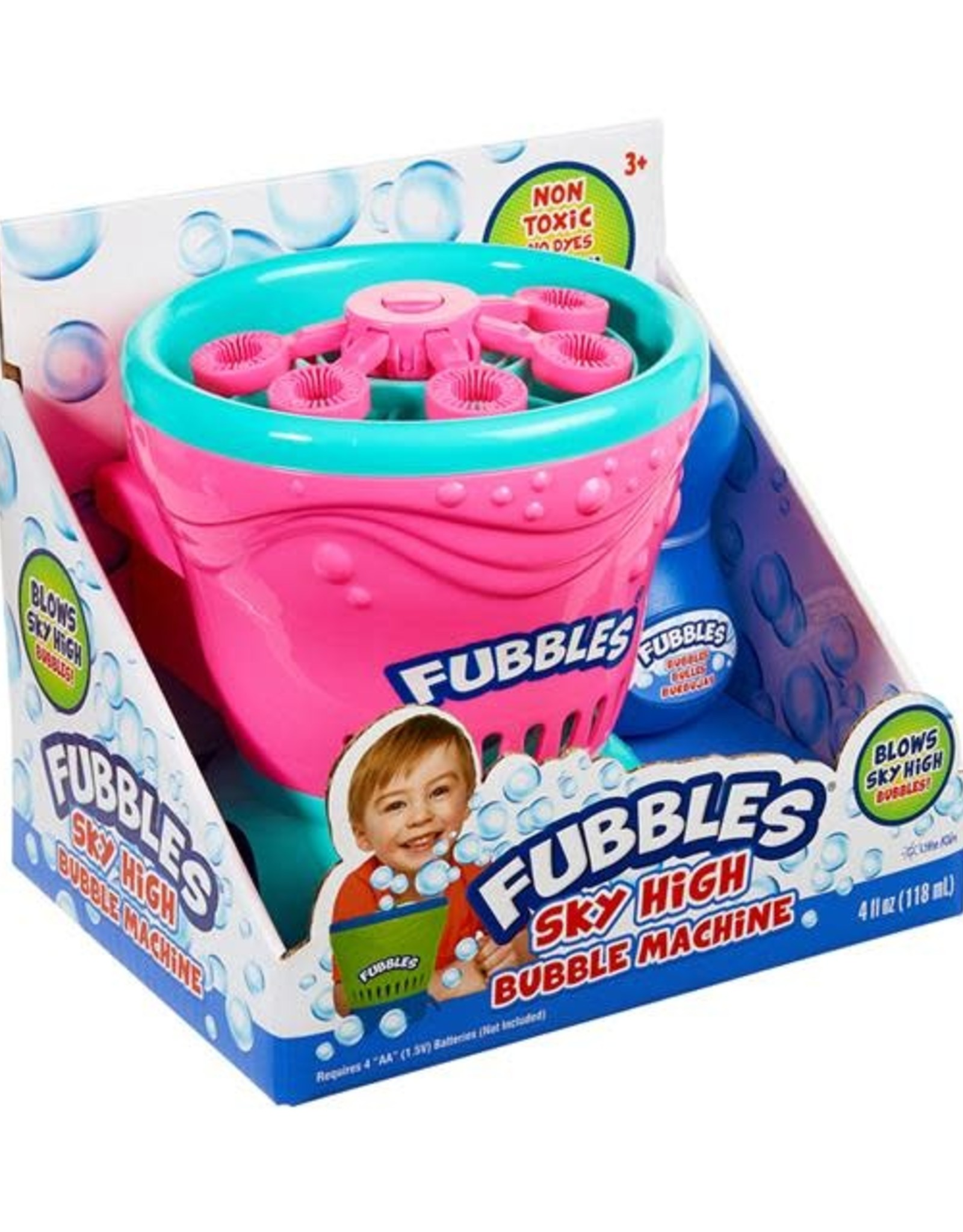 Little Kids Inc. Fubbles Sky High Bubble Machine