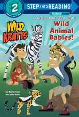 Penguin Random House Step Into Reading 2: Wild Kratts Wild Animal Babies