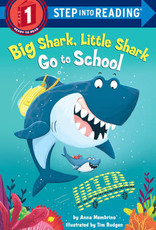 Penguin Random House Step Into Reading 1: Big Shark Little Shark Go to School