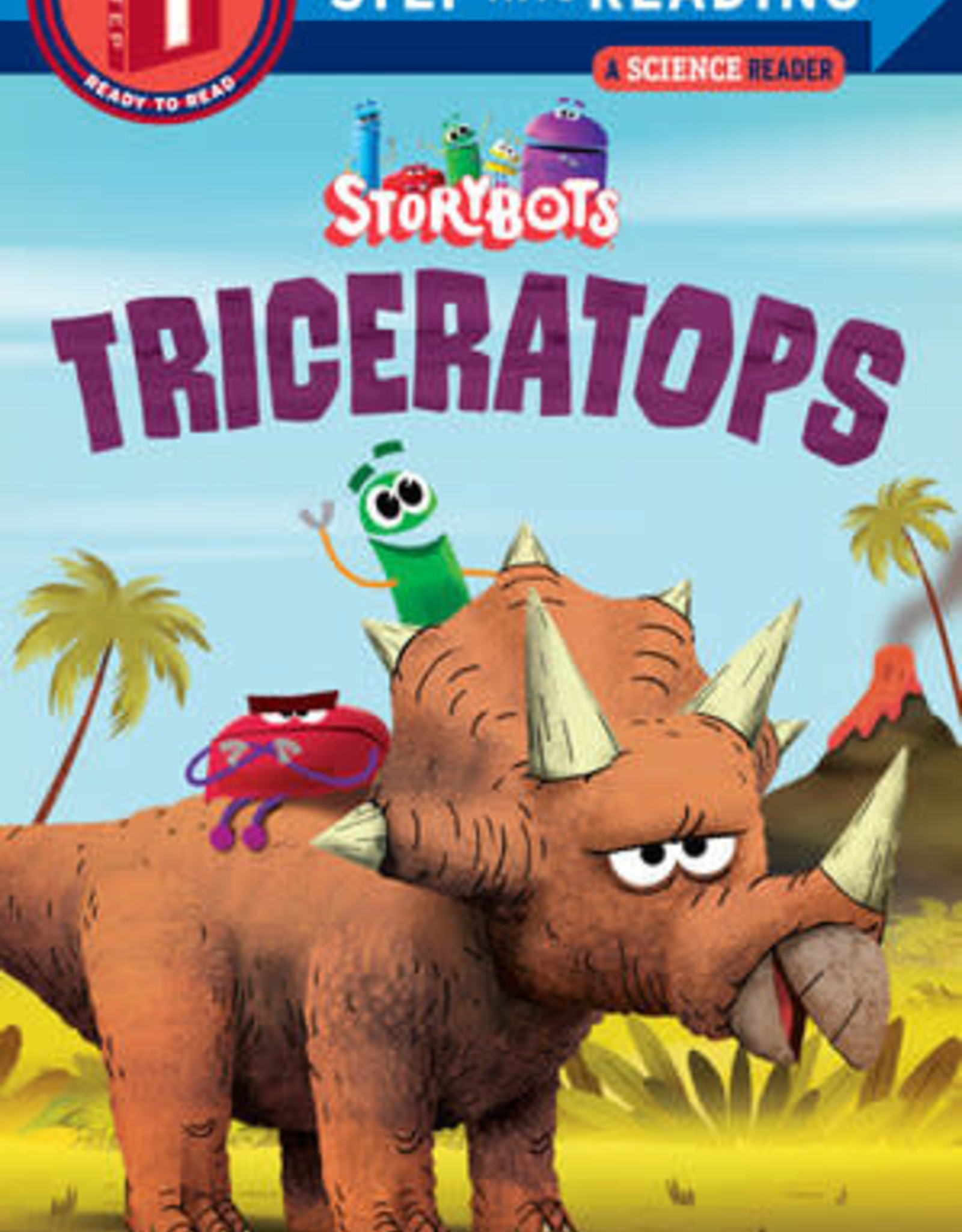 Penguin Random House Step Into Reading 1: Storybots Triceratops