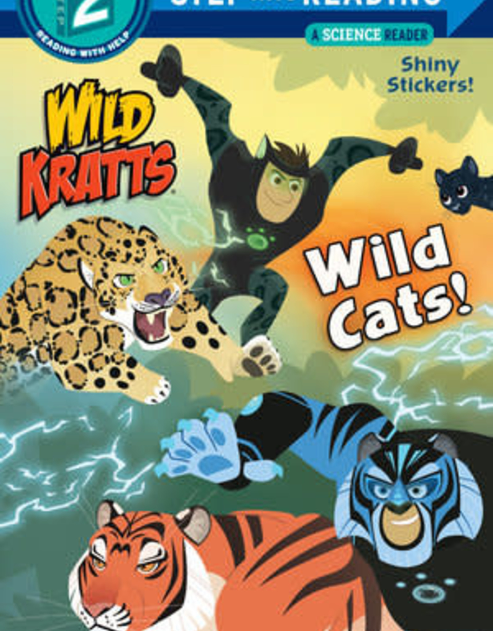 Penguin Random House Step Into Reading 2: Wild Kratts Wild Cats