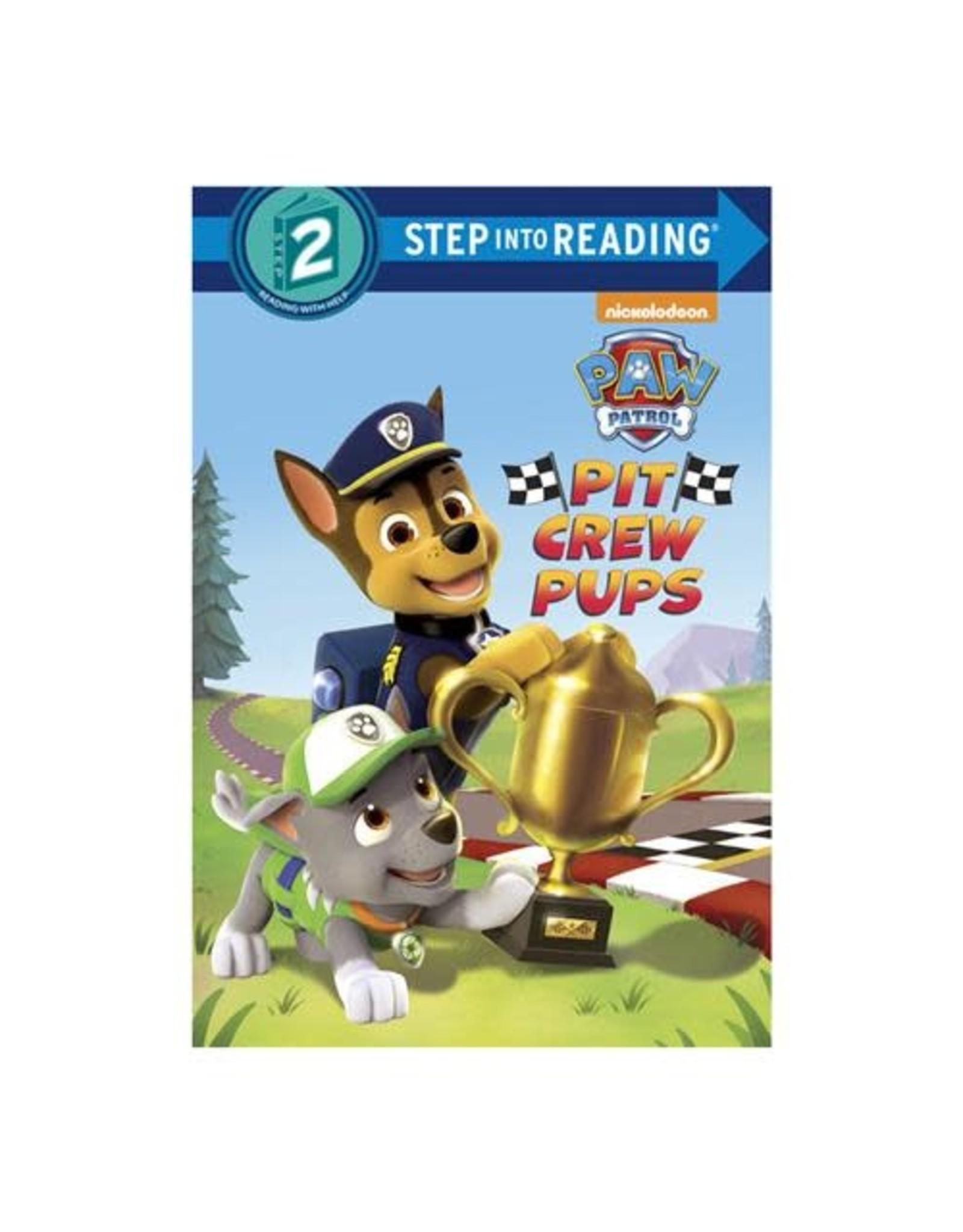 Penguin Random House Step Into Reading 2: Paw Patrol Pit Crew Pups