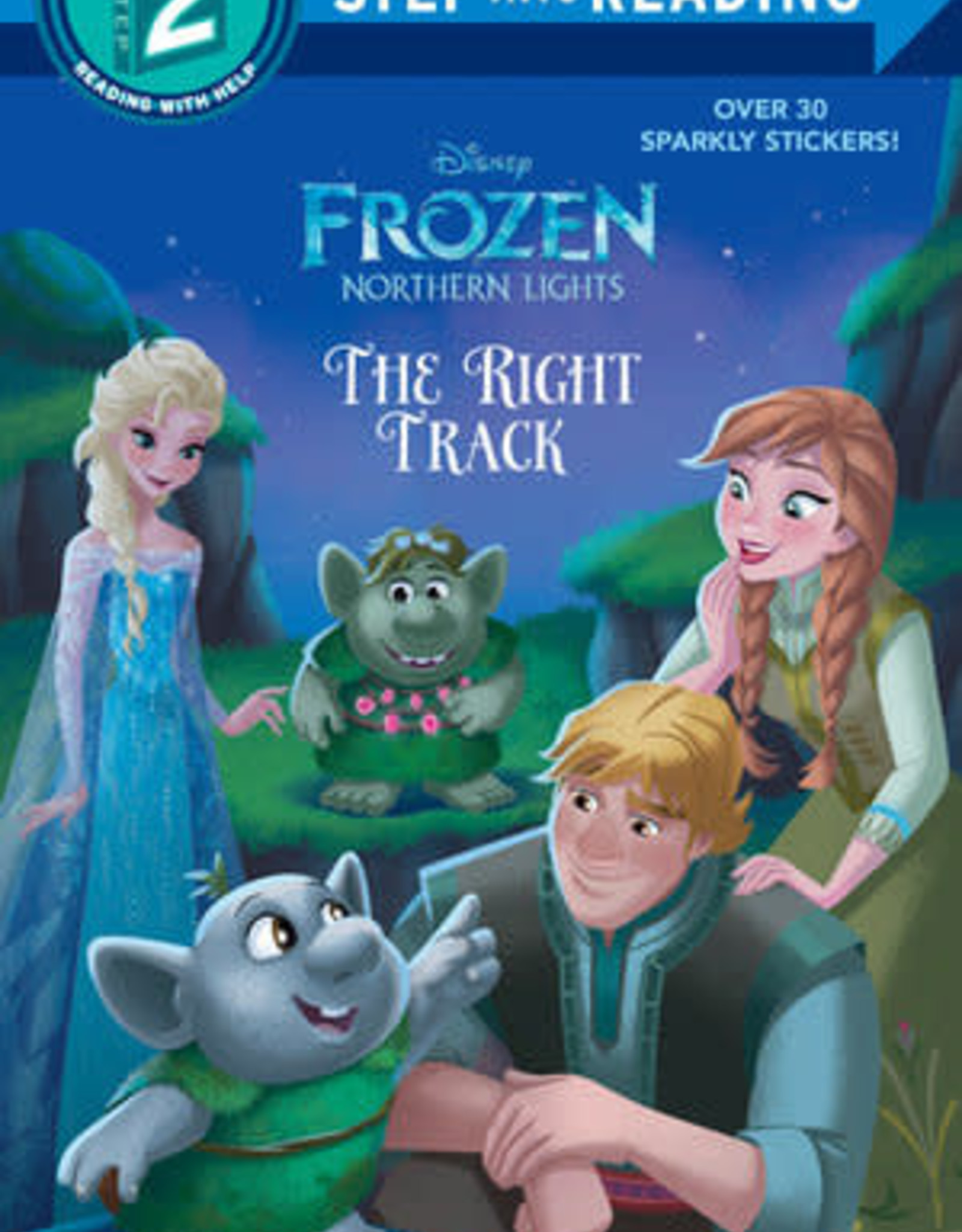 Penguin Random House Step Into Reading 2: Frozen The Right Track