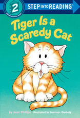 Penguin Random House Step Into Reading 2: Tiger Is a Scaredy Cat