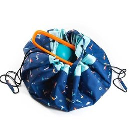 Play & Go Play N Go 2 in 1 Outdoor Playmat and Storage Bag - Surf