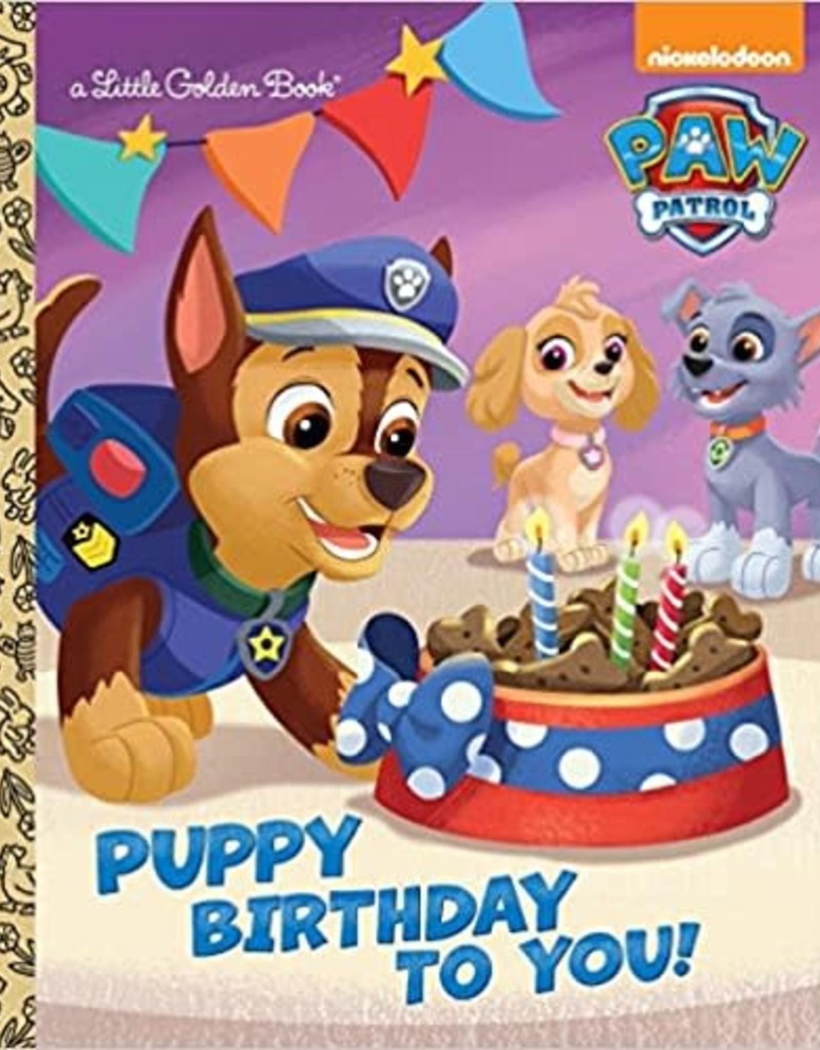 Penguin Random House Puppy Birthday To You