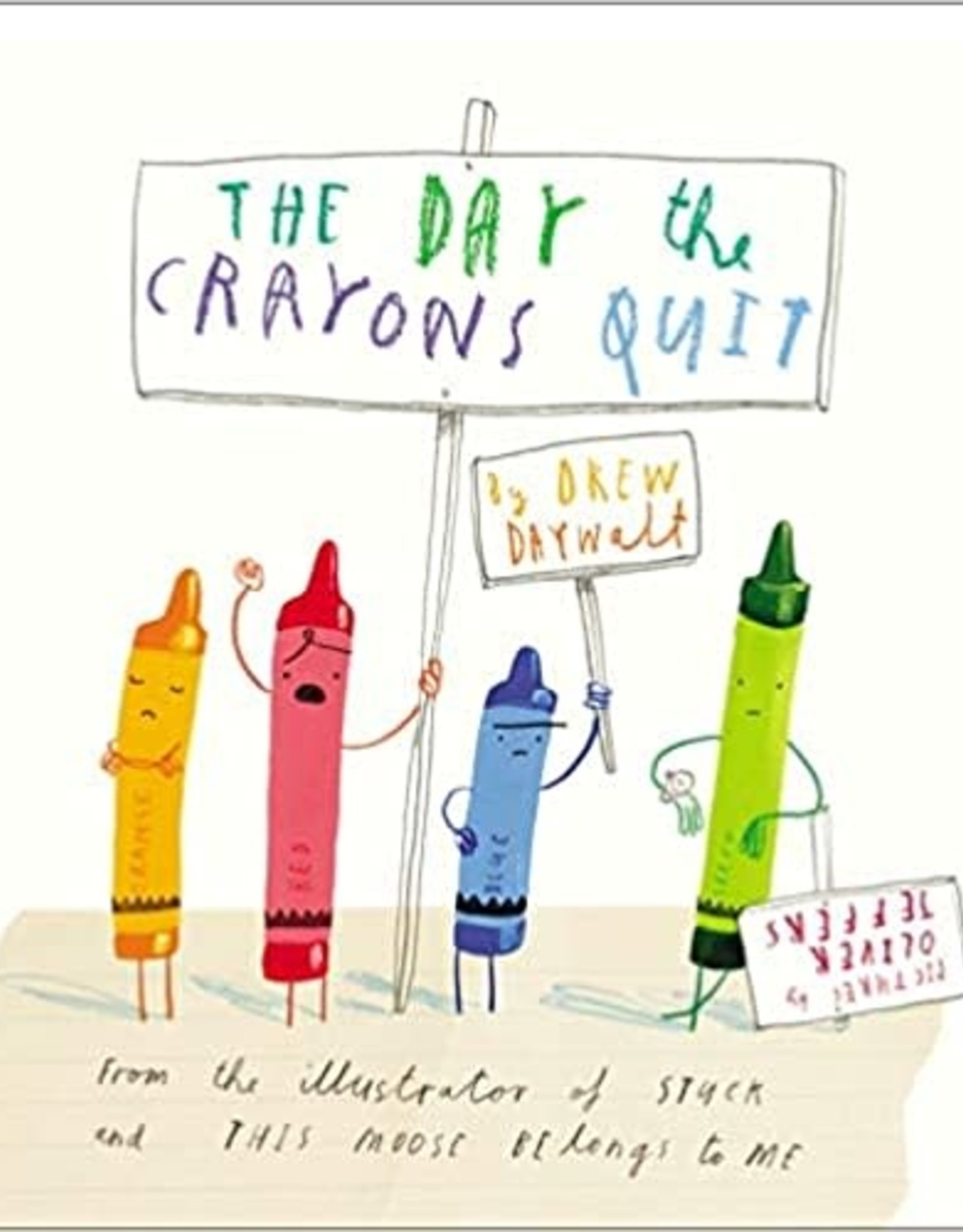 Penguin Random House The Day the Crayons Quit