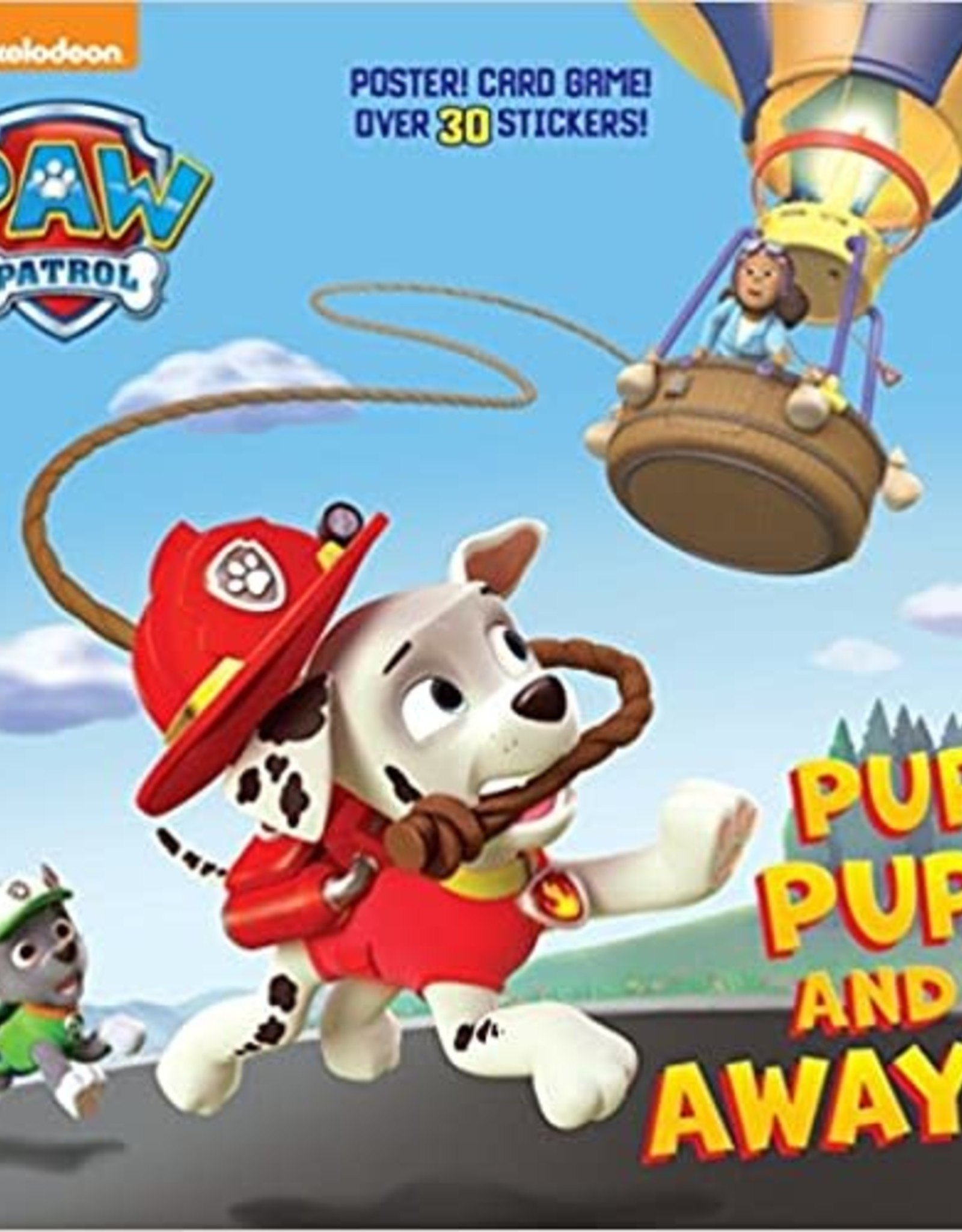 Penguin Random House Paw Patrol: Pup, Pup, and Away!