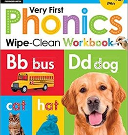 Scholastic Very First Phonics Pre-K Wipe Clean Workbook