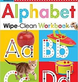 Scholastic Scholastic Alphabet Wipe-Clean Workbook