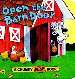 Penguin Random House Open the Barn Door - Chunky Flap Book