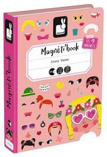 Janod Janod Magneti'book Crazy Faces (Girl)