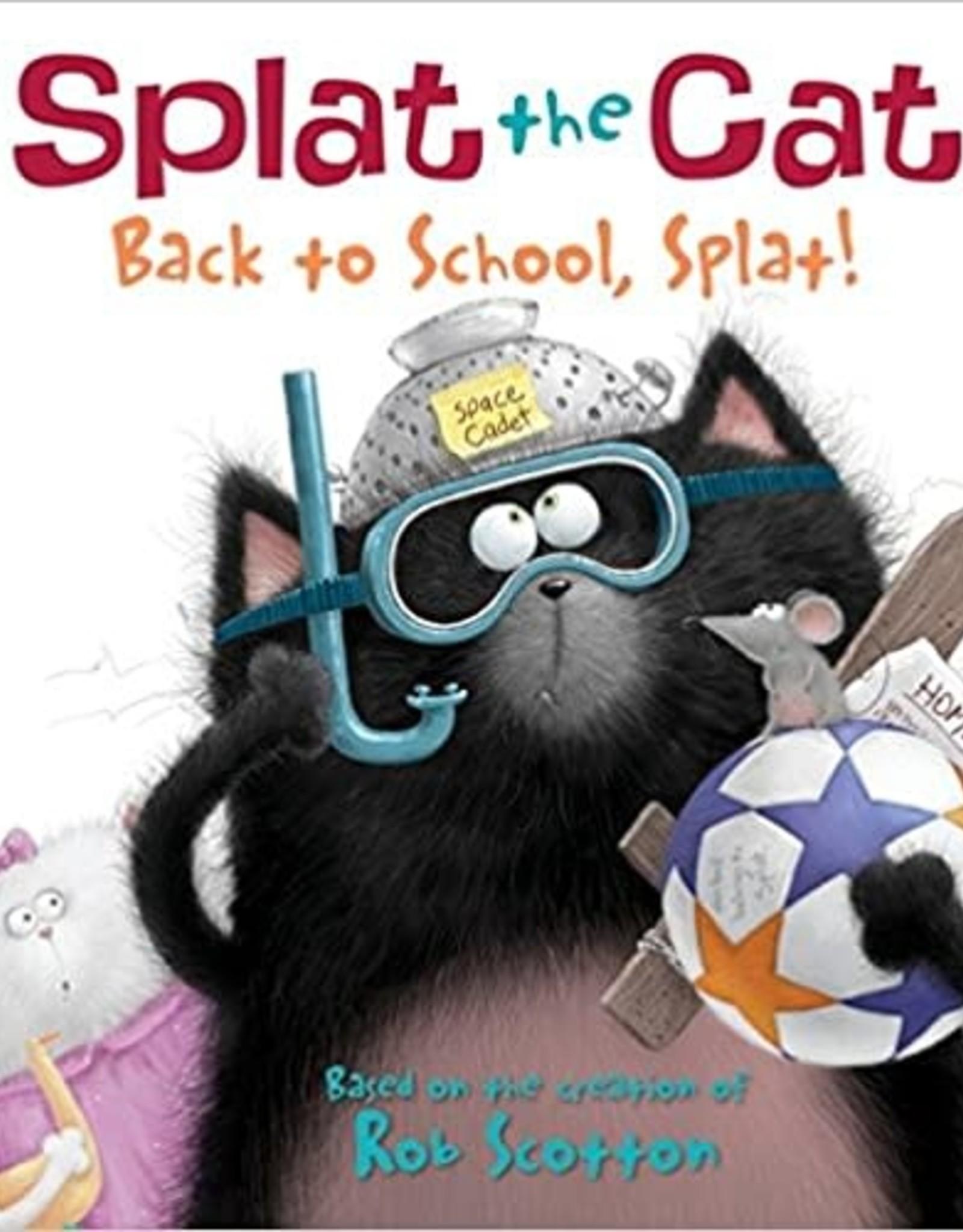 HarperCollins Splat the Cat - Back to School, Splat!