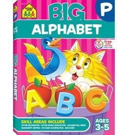 School Zone Big Alphabet Workbook