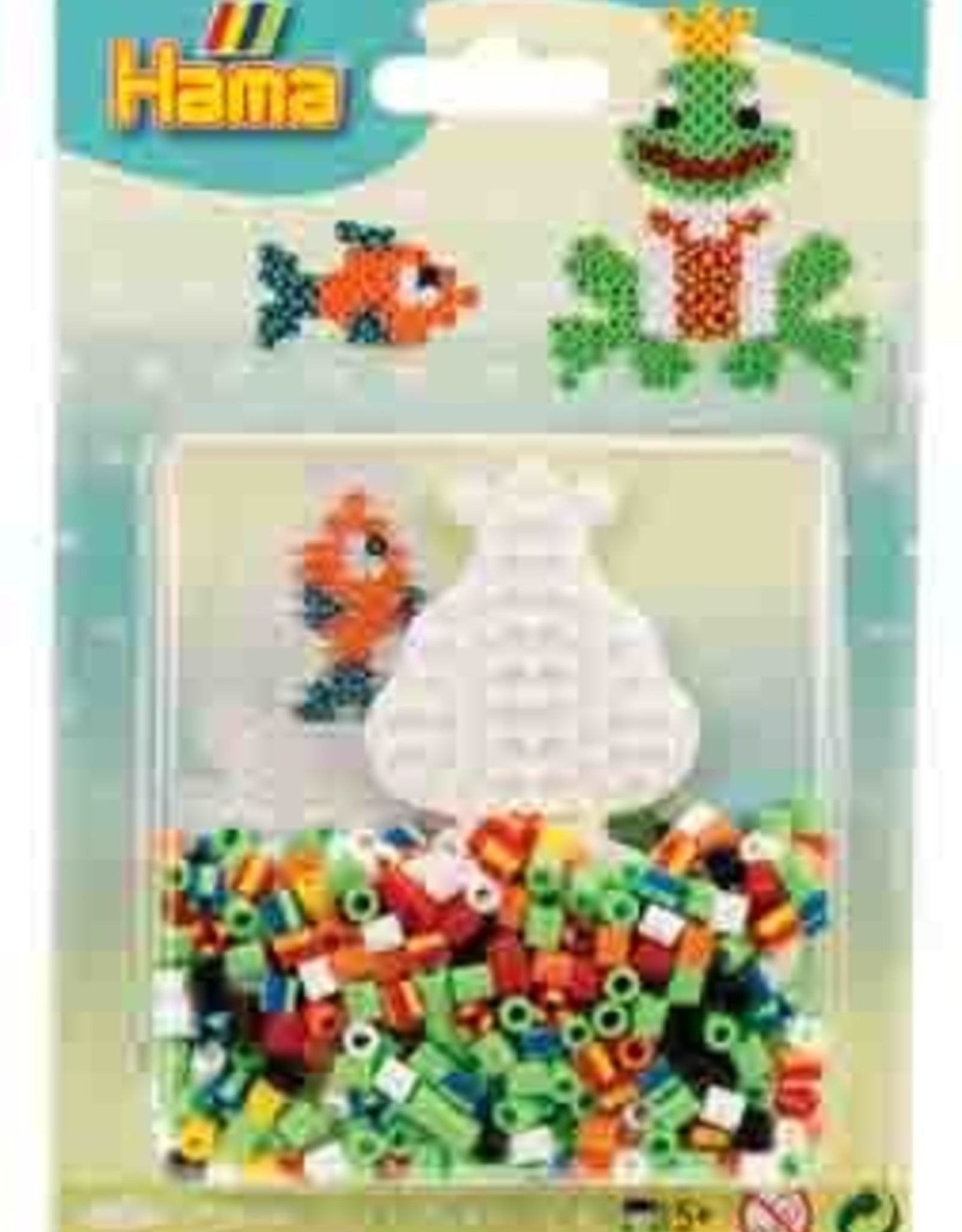 Hama Hama Bead Mini Set - Frog / Fish