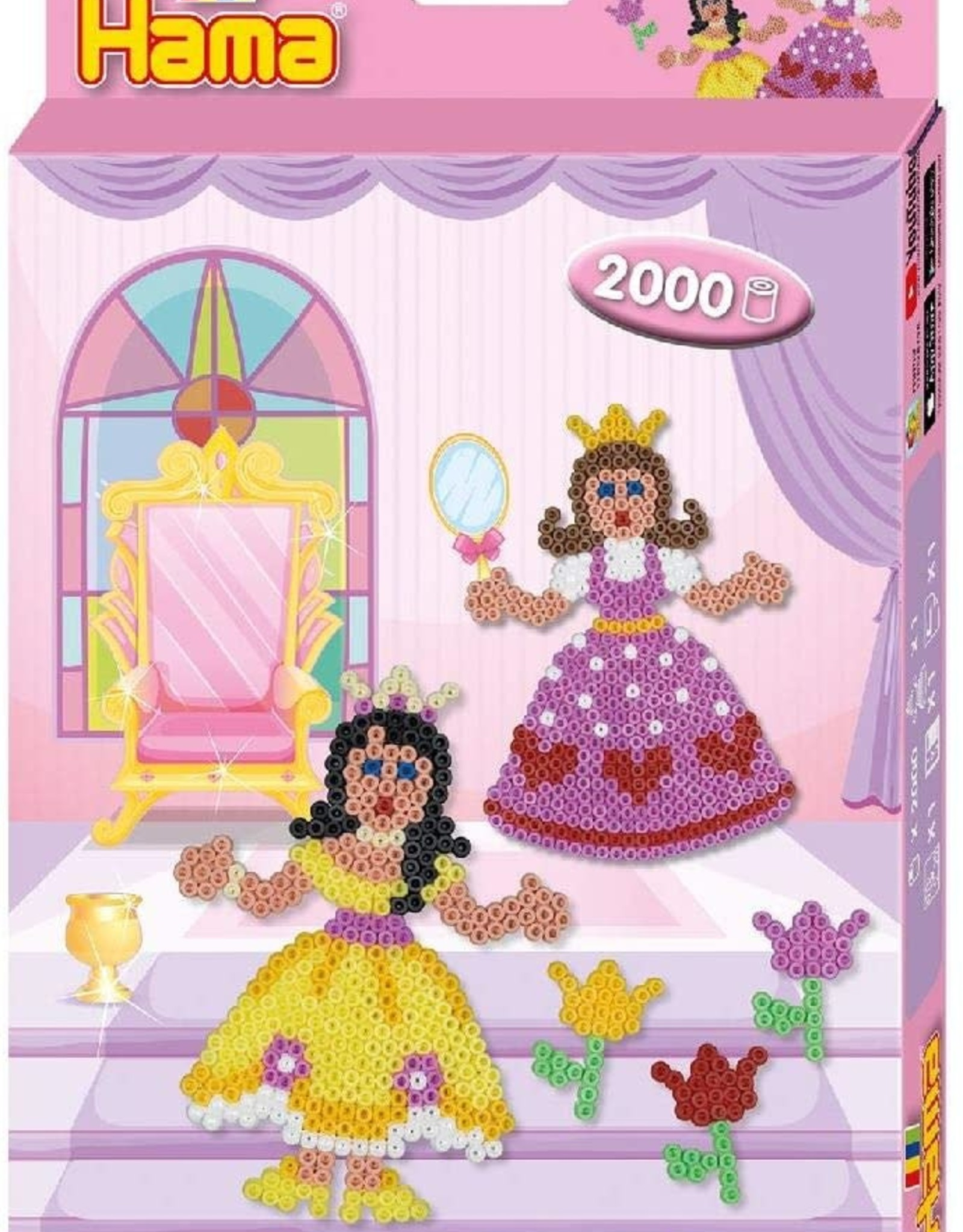 Hama Hama Beads Princess - 2000