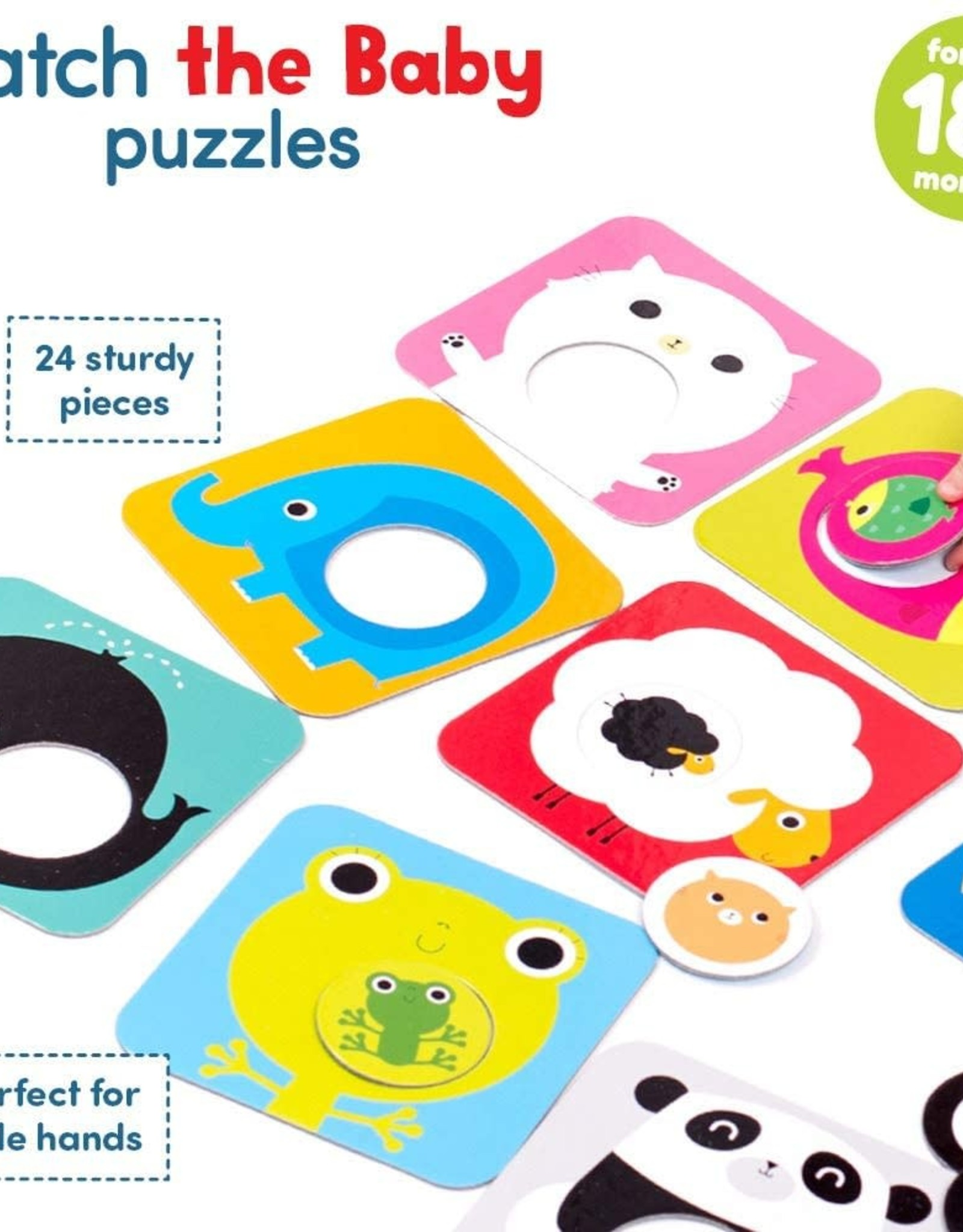 Banana Panda Match the Baby Puzzle Set