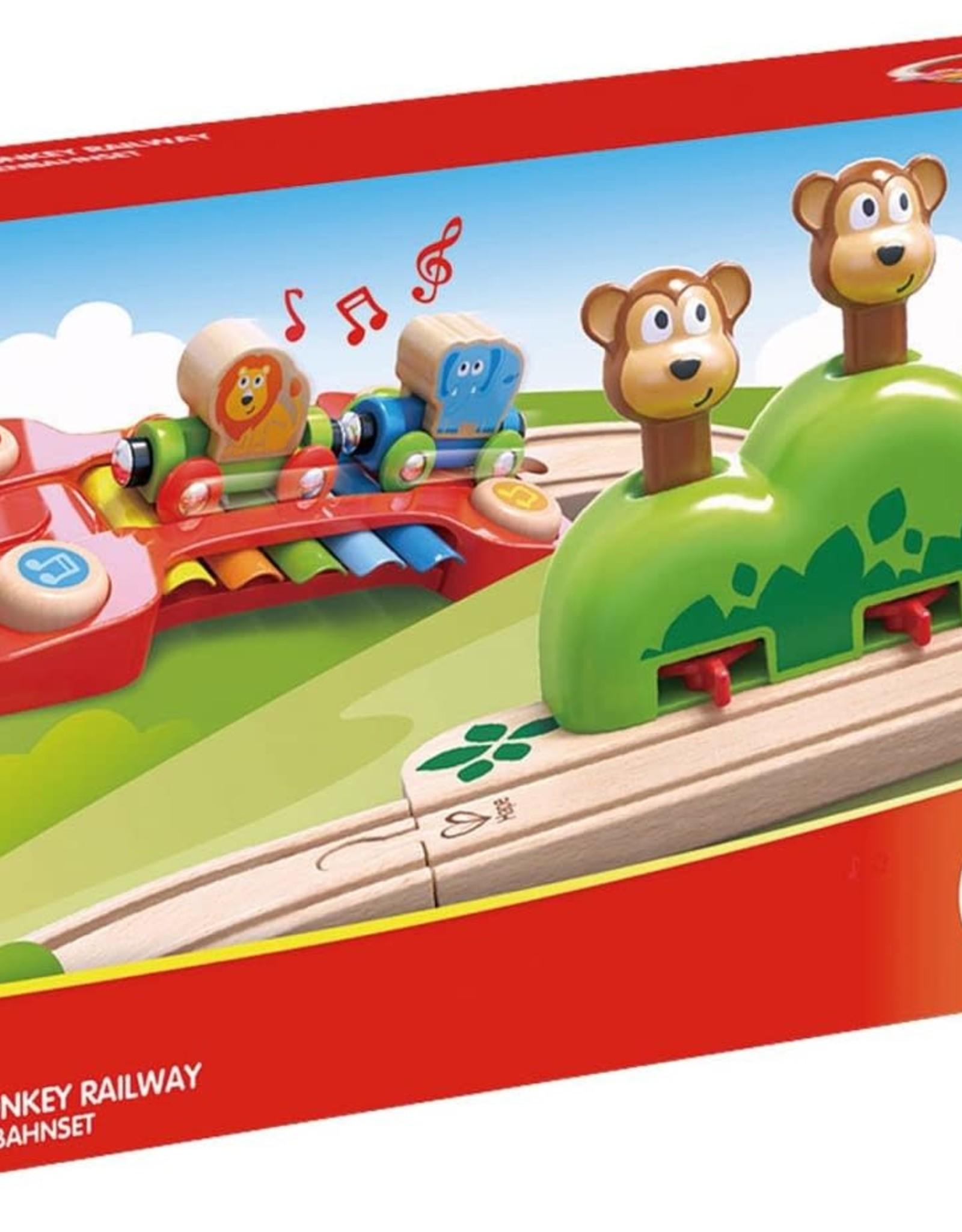 Hape Toys Hape Music and Monkey Railway