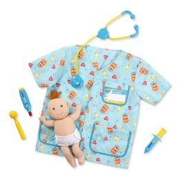 Melissa & Doug Melissa & Doug Paediatric Nurse Role Play Costume