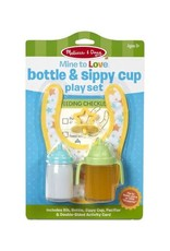 Melissa & Doug Melissa & Doug Mine to Love Bottle & Sipply Cup Play Set