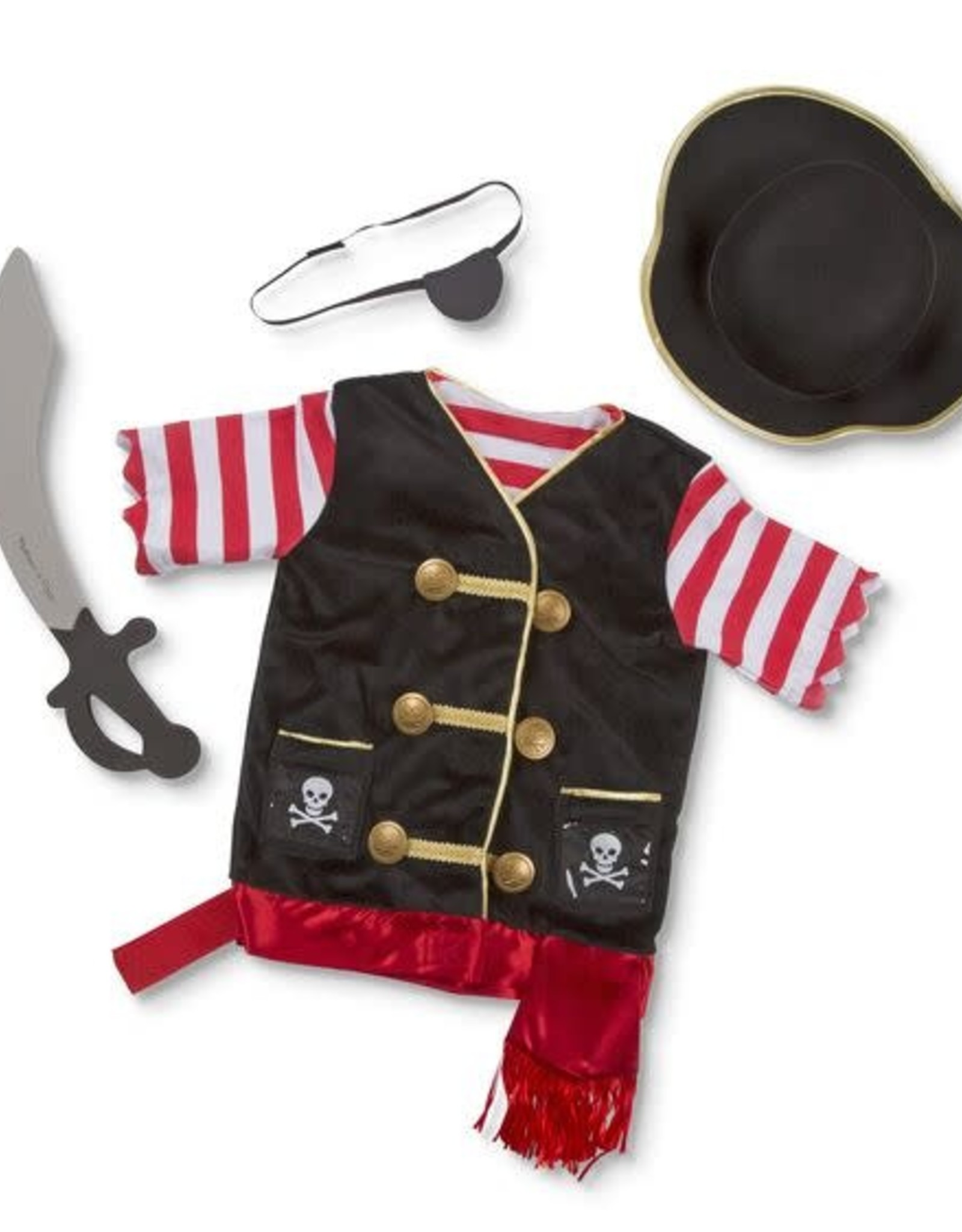 Melissa & Doug Melissa & Doug Pirate Role Play Costume