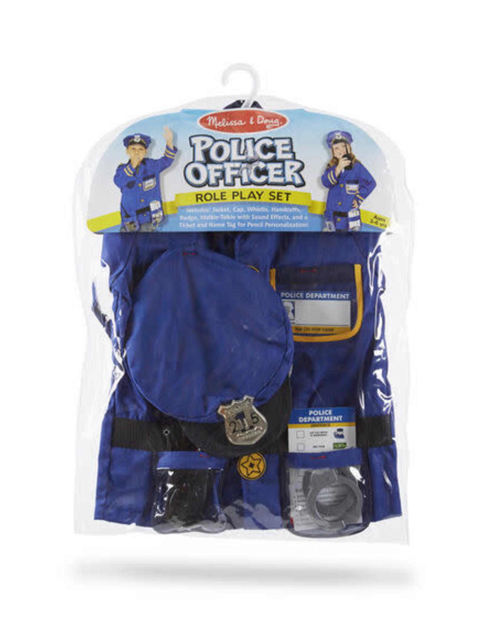 Melissa & Doug Melissa & Doug Police Officer Role Play Costume