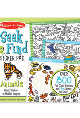 Melissa & Doug Melissa & Doug Seek and Find Sticker Pad - Animals