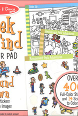 Melissa & Doug Melissa & Doug Seek and Find Sticker Pad - Around Town